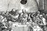Fig.2a - Albrecht Durer, The Last Supper, The Large Passion, 1510