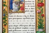 Fig.3b - Epistle Lectionary, Christ Church MS 101, fol.20r