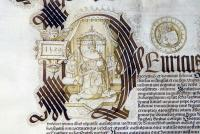 Fig.4b - Royal Charter for Cardinal College, 1529, Kew-TNA E24-20-1(3)