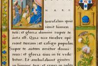 Fig.5a - Epistle Lectionary, Christ Church MS 101, fol.10r