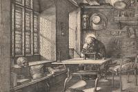 Fig.5c - Albrecht Durer, St Jerome in His Study, 1514