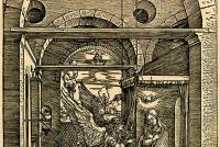 Fig.5d - Albrecht Durer, Annunciation, The Life of the Virgin, before 1511