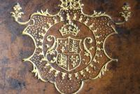Detail of the binding of Magdalen ms lat 223