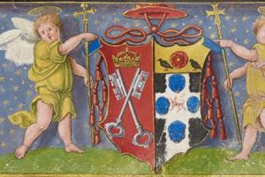 detail from Christ Church, ms 101 10r