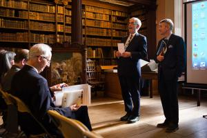 Introduction from the President of Magdalen College and the Dean of Christ Church
