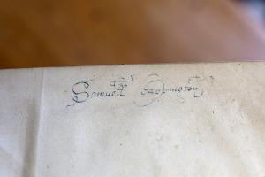 signature of Samuel Chappington